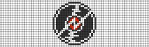Alpha pattern #25168