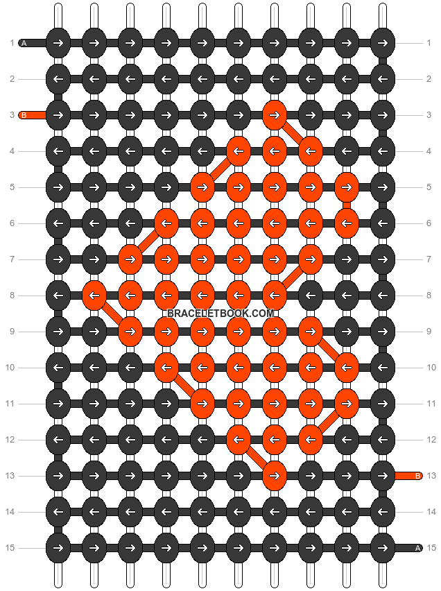 Alpha pattern #25174 pattern