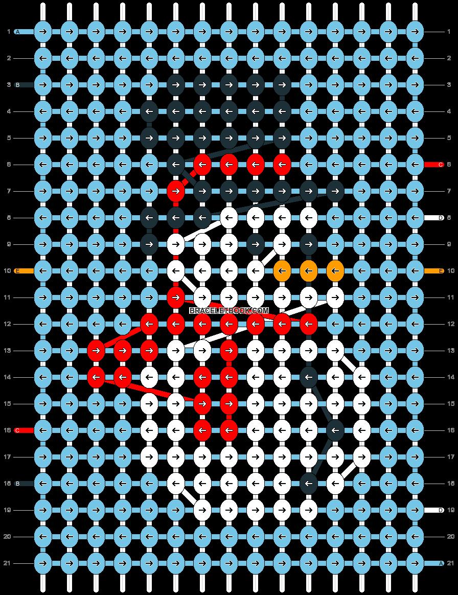 Alpha pattern #25177 pattern