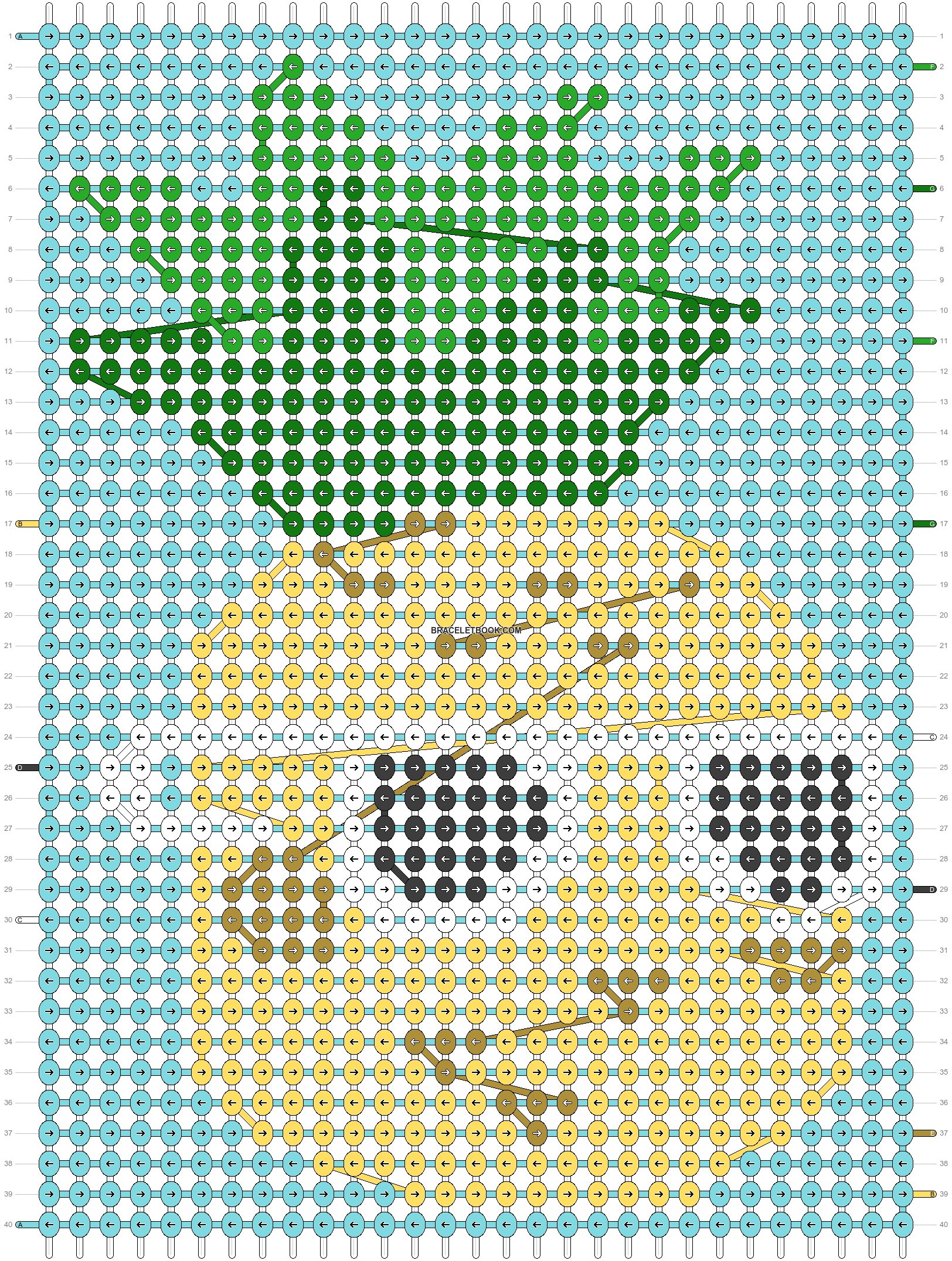 Alpha pattern #25182 pattern