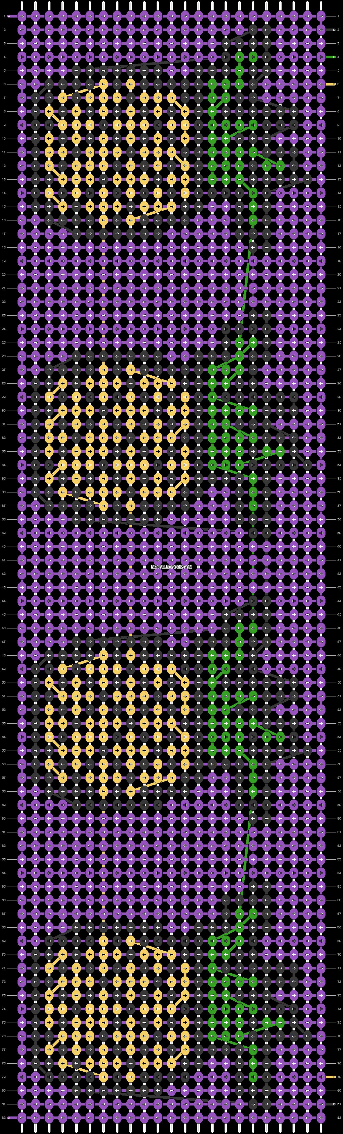 Alpha pattern #25183 pattern