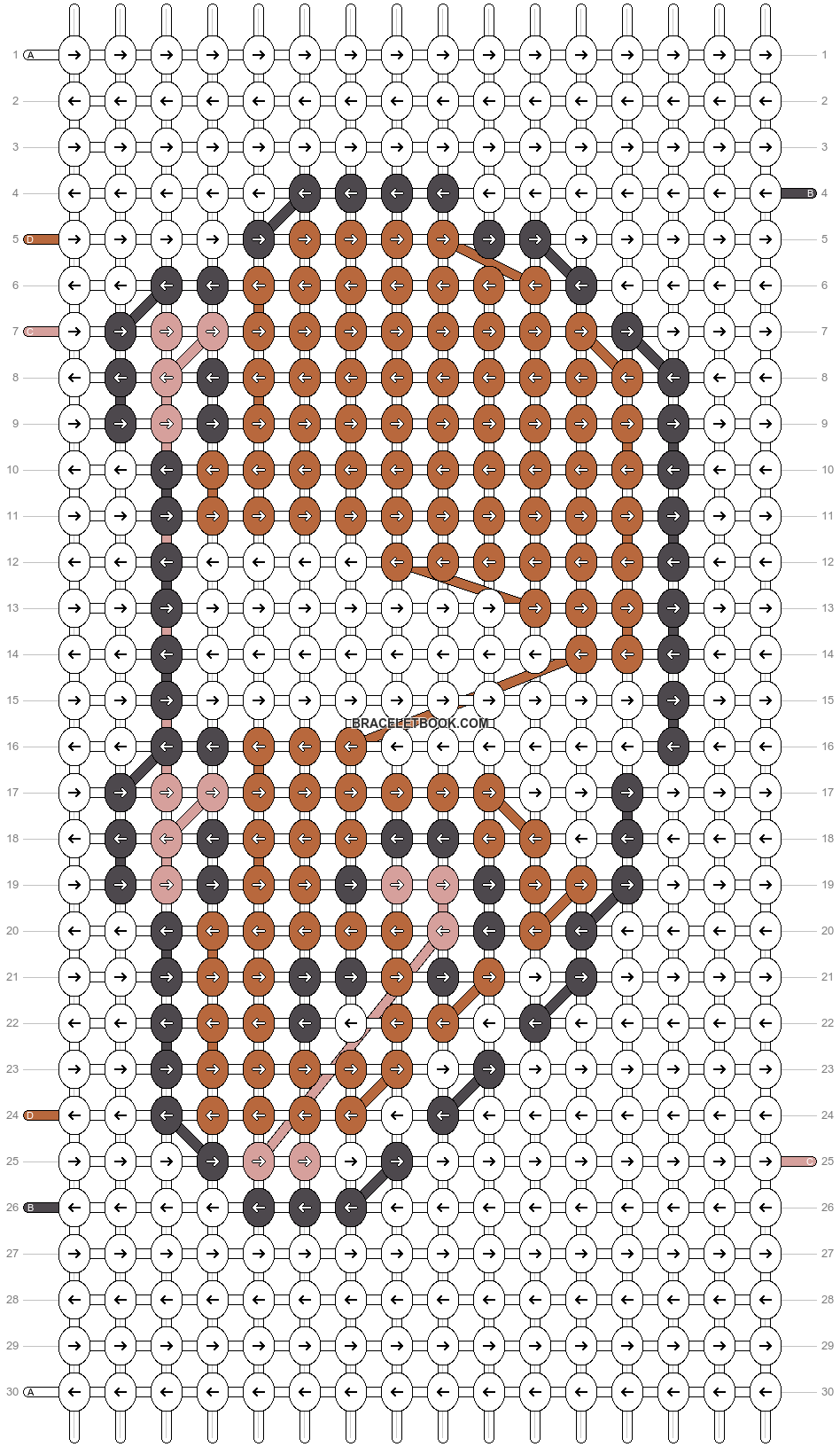 Alpha pattern #25199 pattern