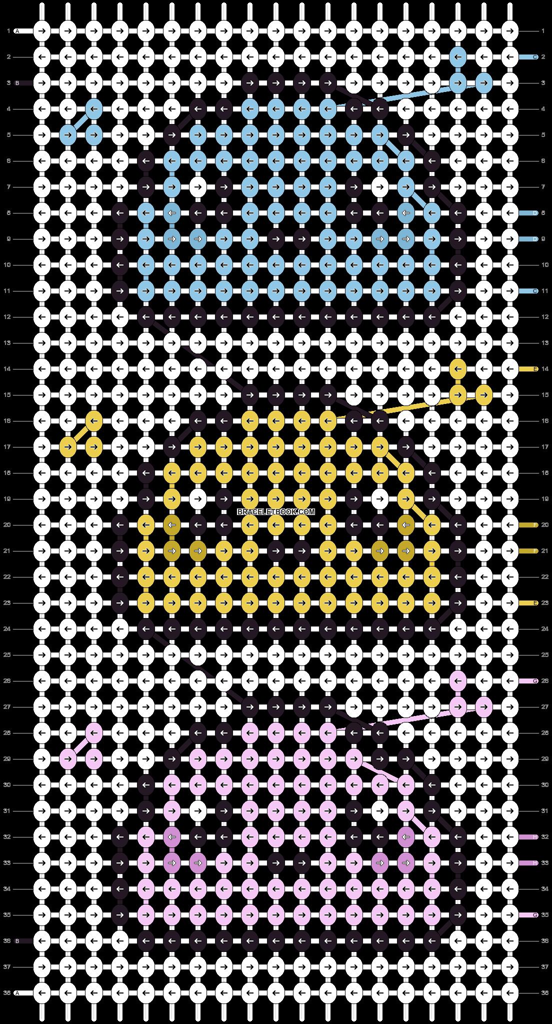 Alpha pattern #25202 pattern