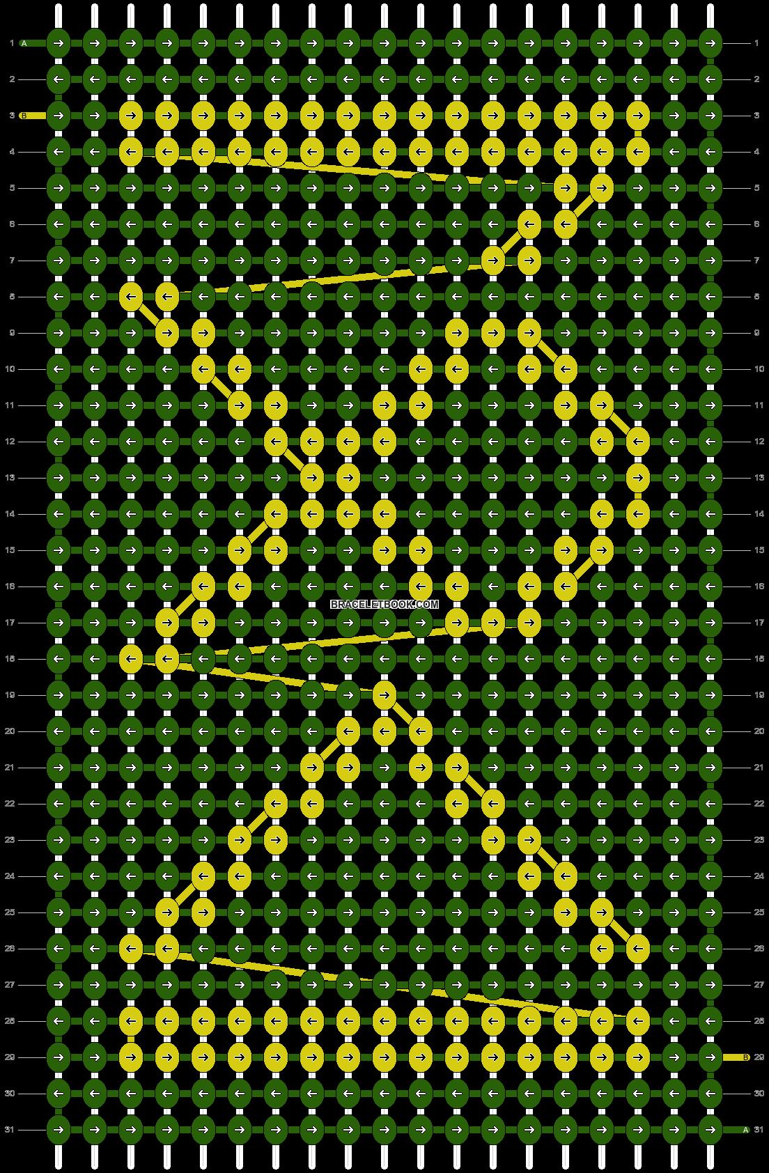 Alpha pattern #25203 pattern