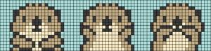 Alpha pattern #25211