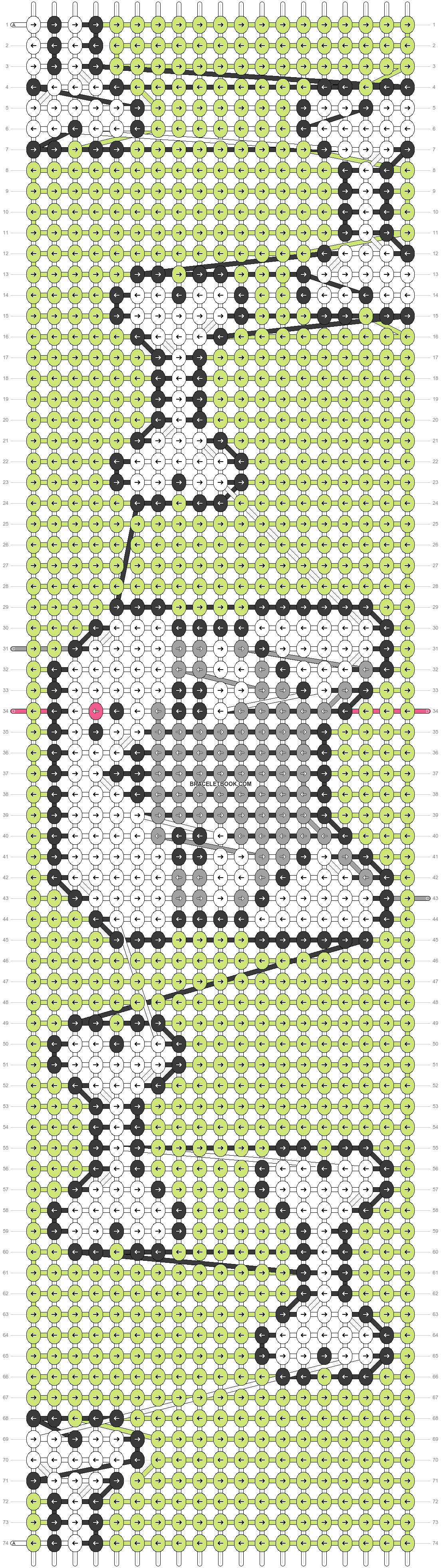 Alpha pattern #25238 pattern