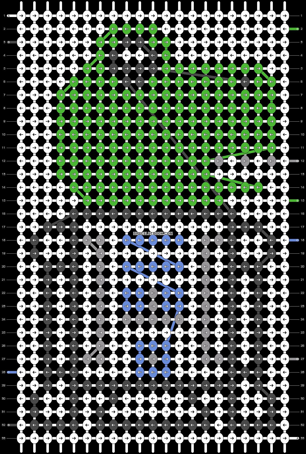 Alpha pattern #25239 pattern