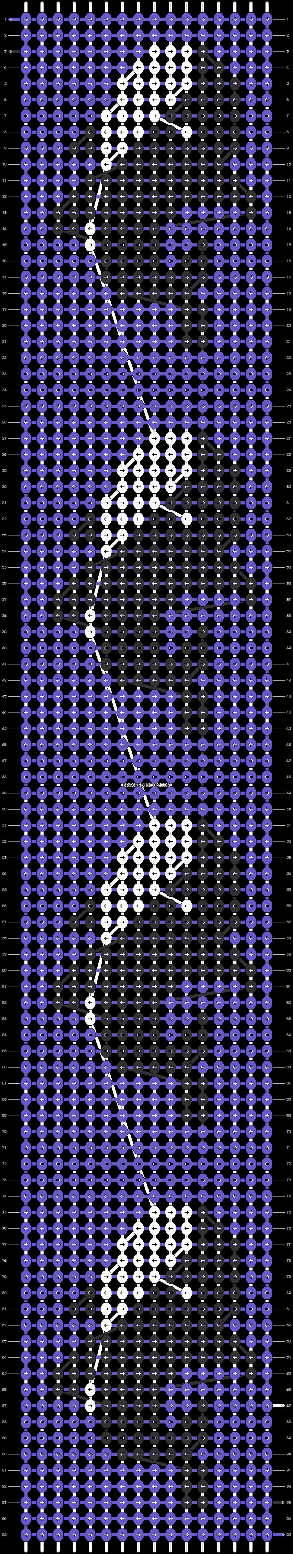 Alpha pattern #25256 pattern