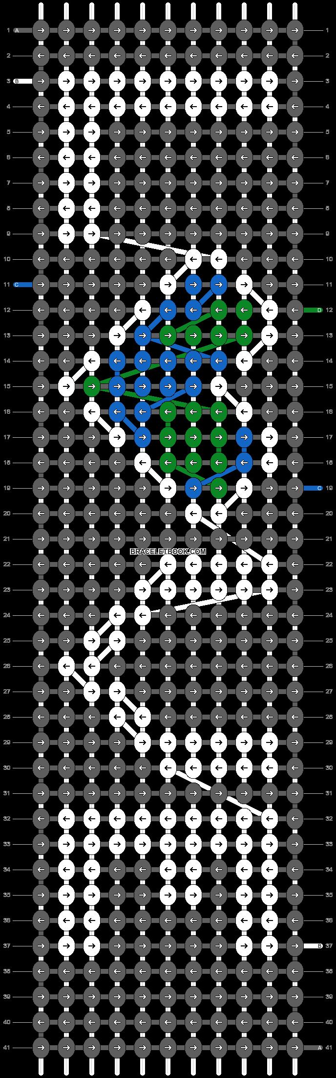 Alpha pattern #25260 pattern