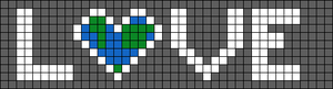 Alpha pattern #25260