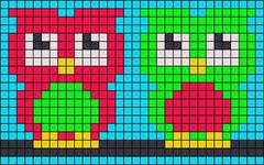 Alpha pattern #25263