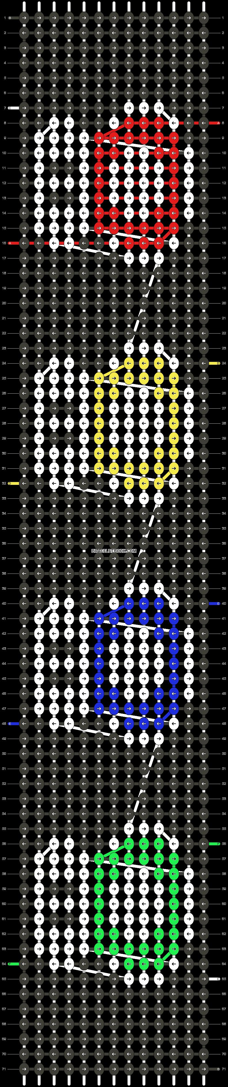 Alpha pattern #25265 pattern
