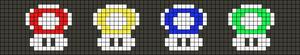 Alpha pattern #25265