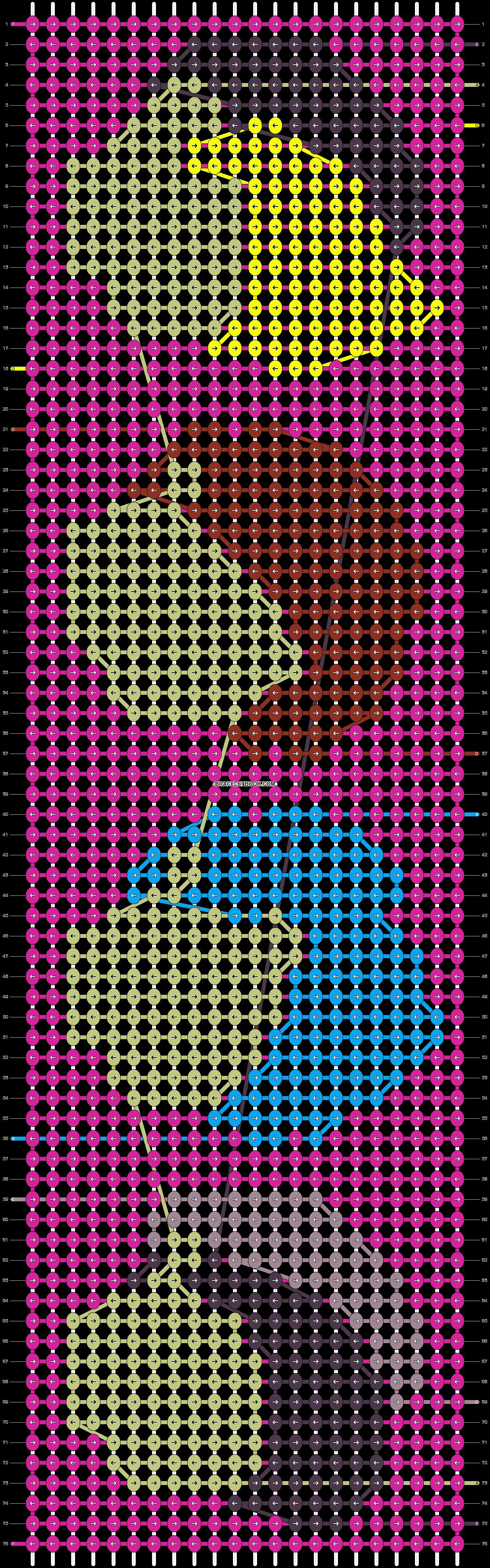 Alpha pattern #25268 pattern