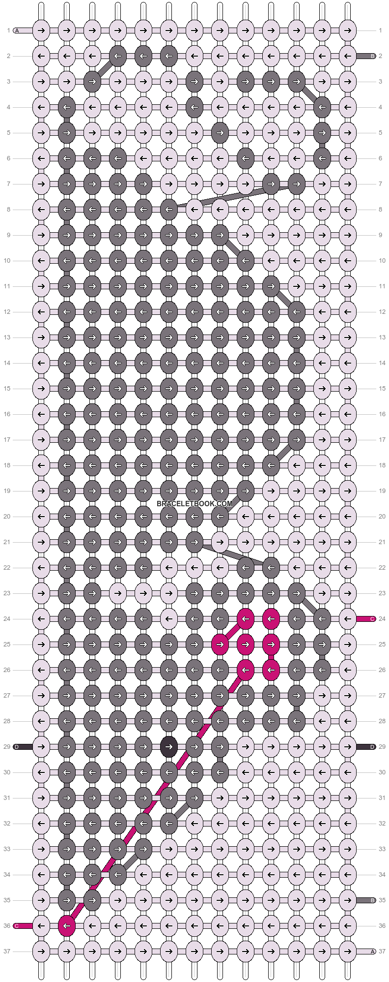 Alpha pattern #25273 pattern