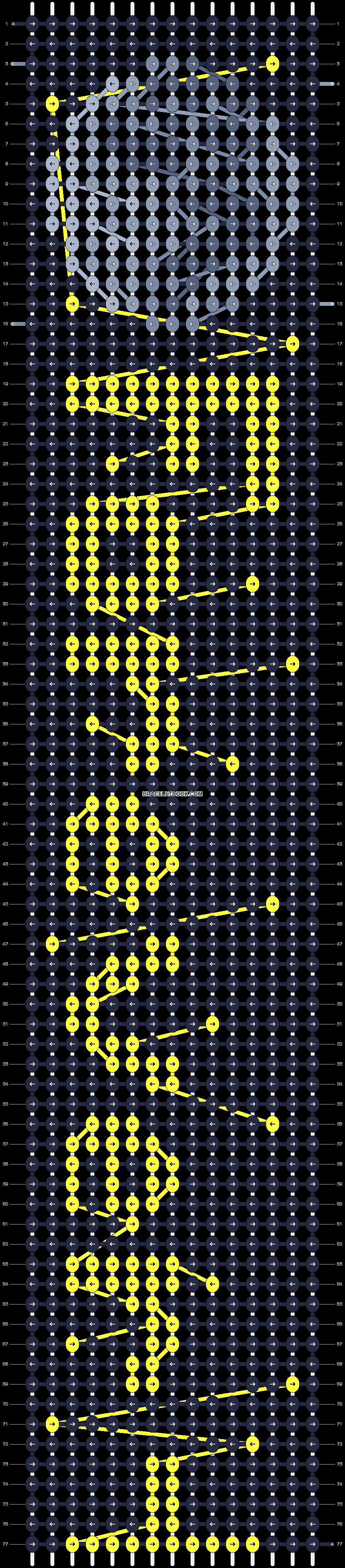 Alpha pattern #25276 pattern