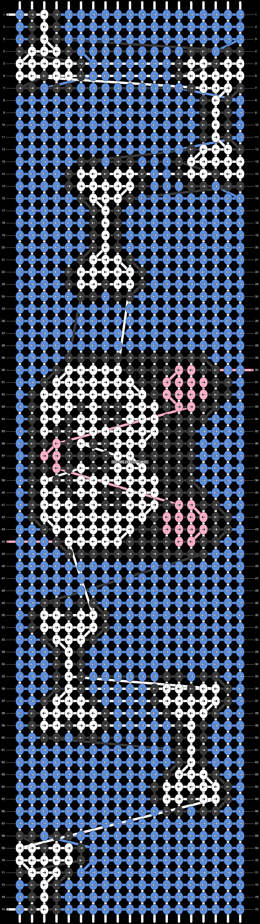 Alpha pattern #25283 pattern