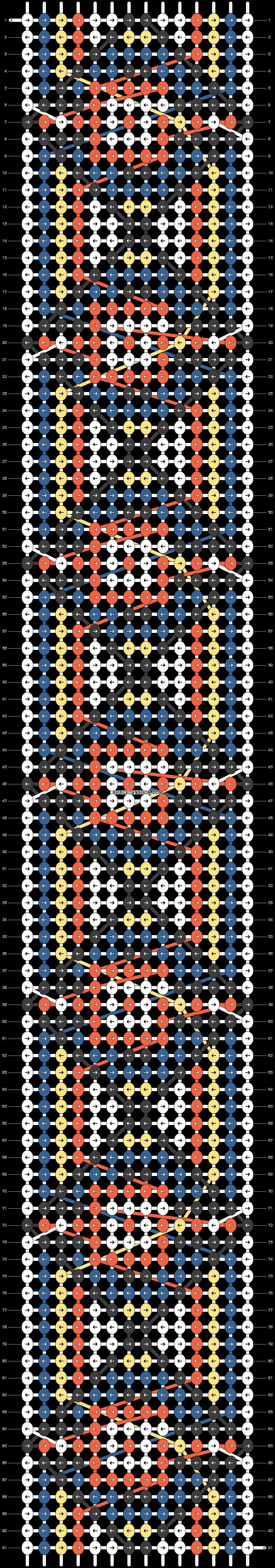 Alpha pattern #25297 pattern
