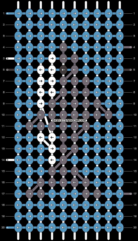 Alpha pattern #25299 pattern