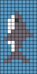 Alpha pattern #25299