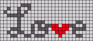 Alpha pattern #25300
