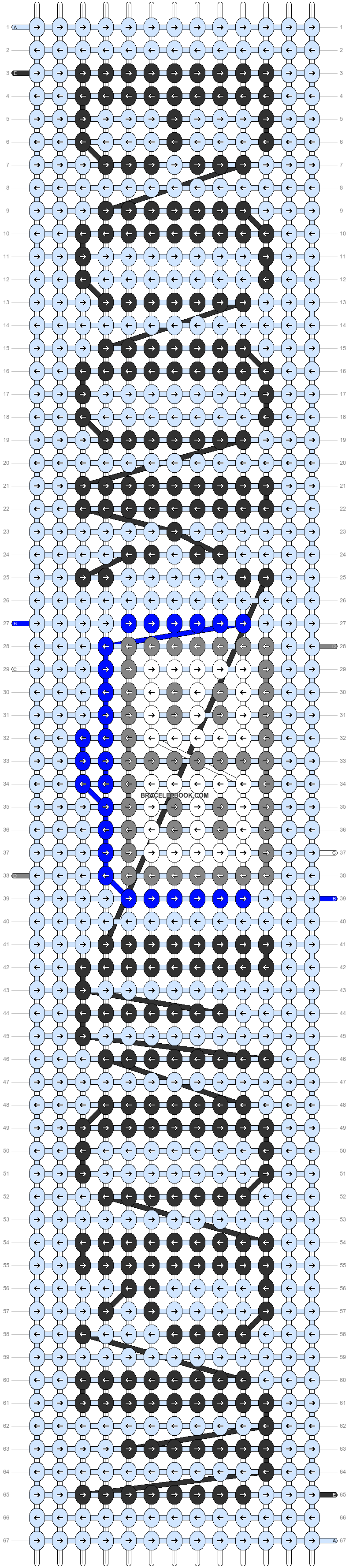 Alpha pattern #25304 pattern