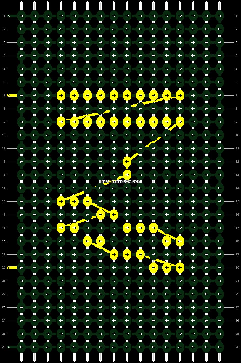 Alpha pattern #25323 pattern