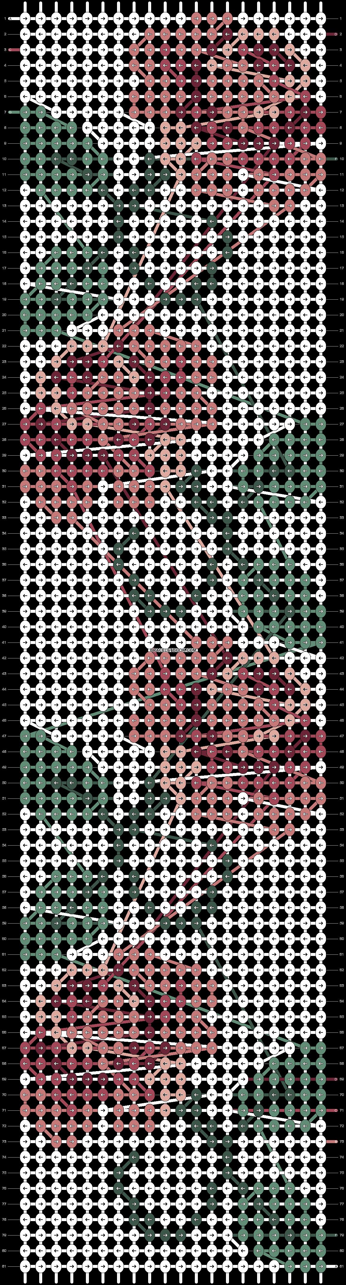 Alpha pattern #25378 pattern
