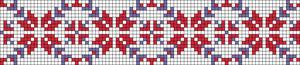Alpha pattern #25379