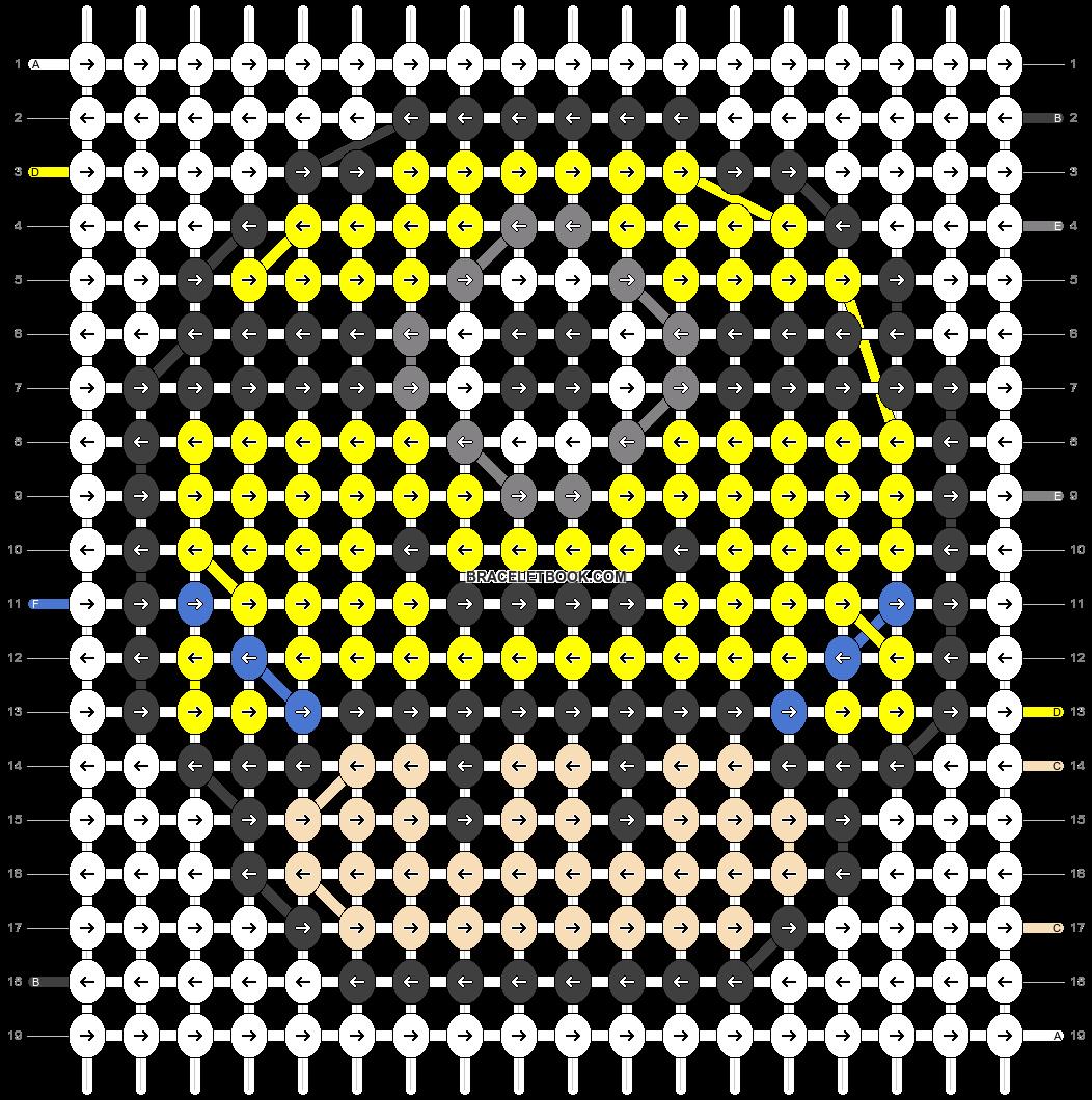 Alpha pattern #25403 pattern