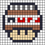 Alpha pattern #25404