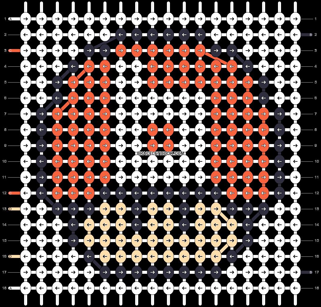 Alpha pattern #25405 pattern