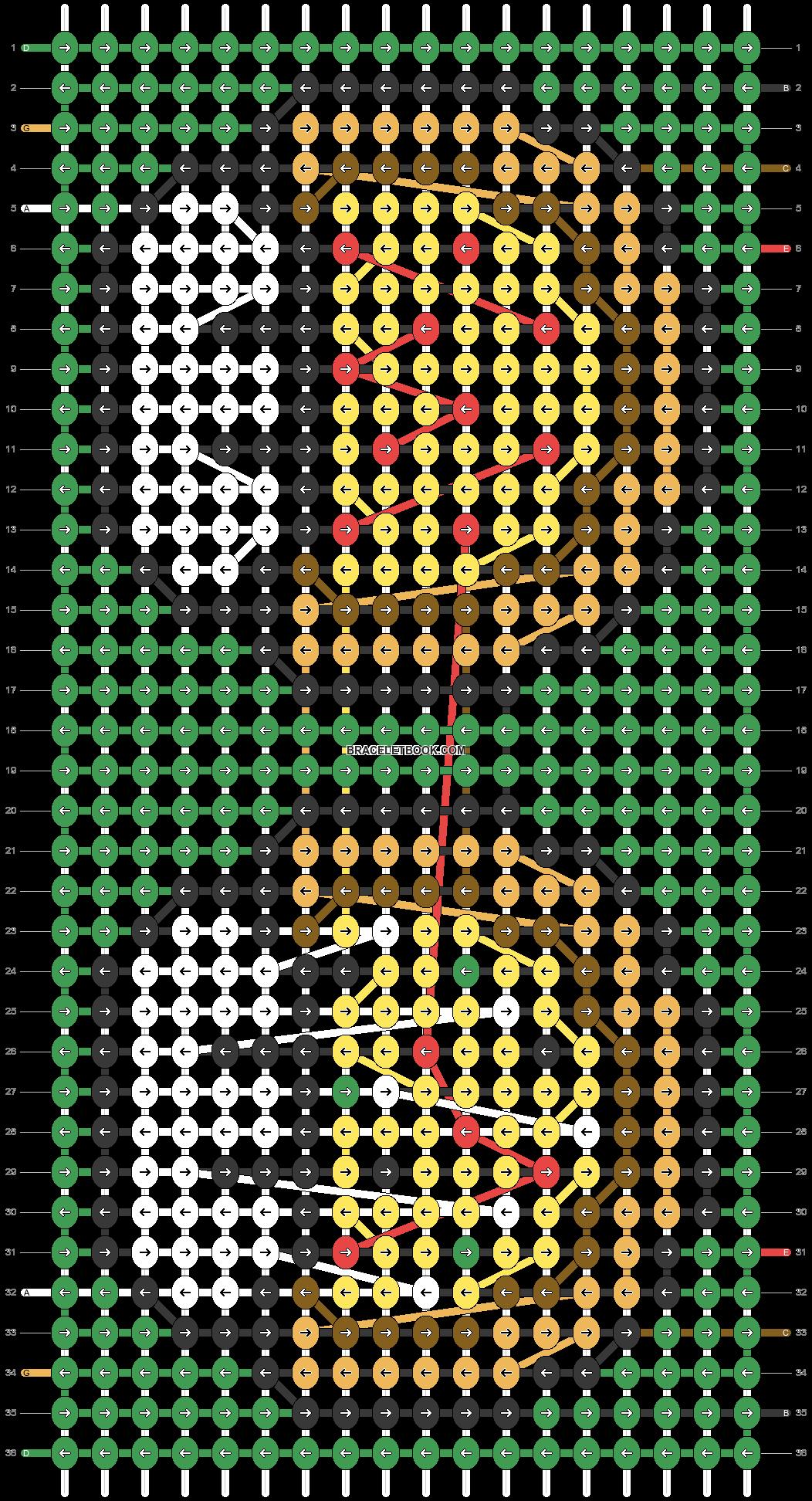 Alpha pattern #25407 pattern