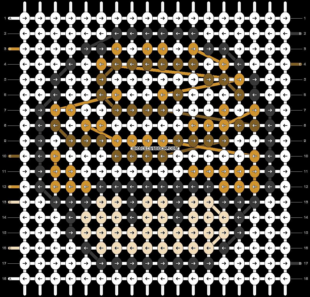 Alpha pattern #25408 pattern