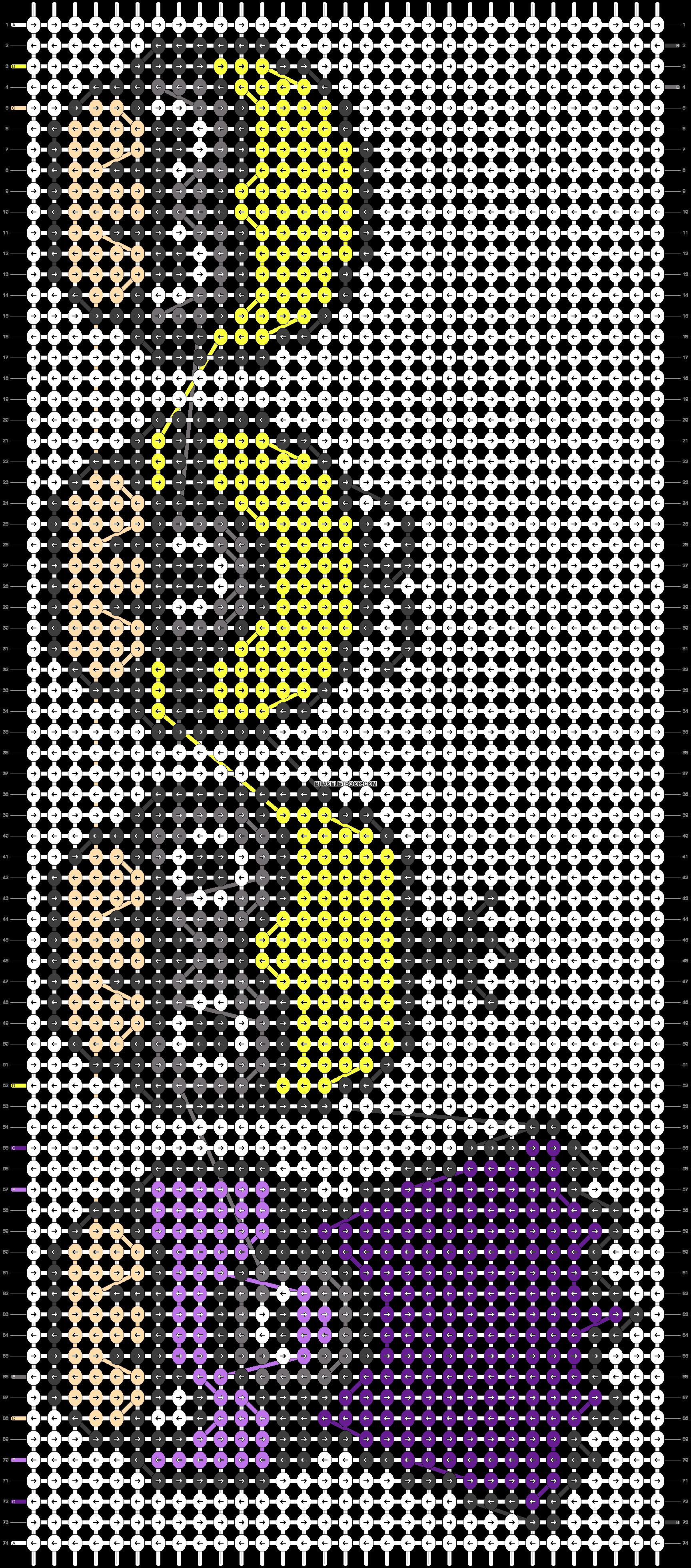Alpha pattern #25409 pattern