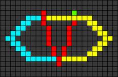 Alpha pattern #25415