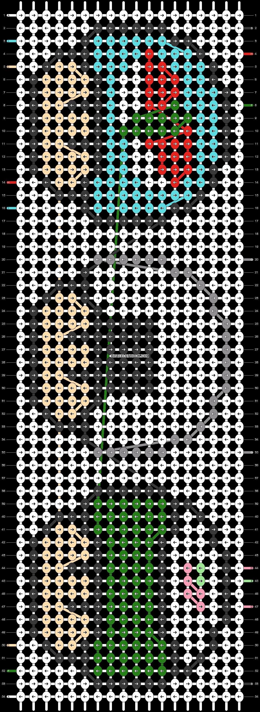 Alpha pattern #25434 pattern
