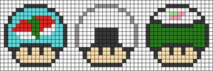Alpha pattern #25434