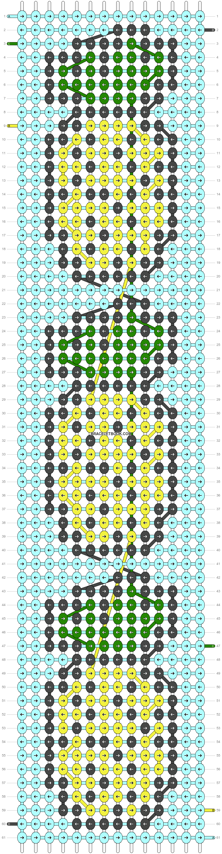 Alpha pattern #25450 pattern