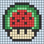Alpha pattern #25451