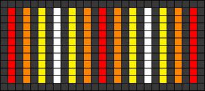 Alpha pattern #25493
