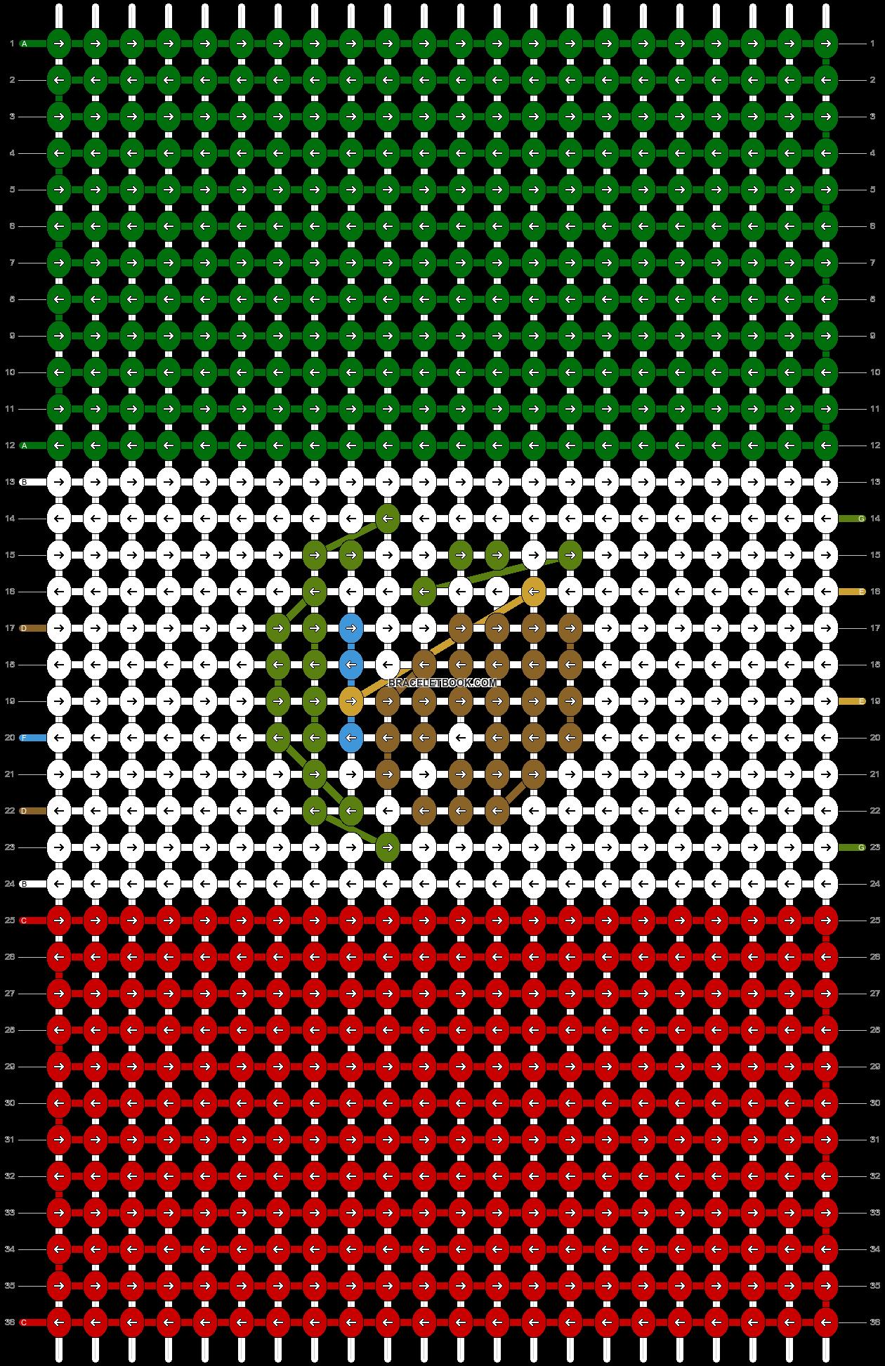 Alpha pattern #25494 pattern