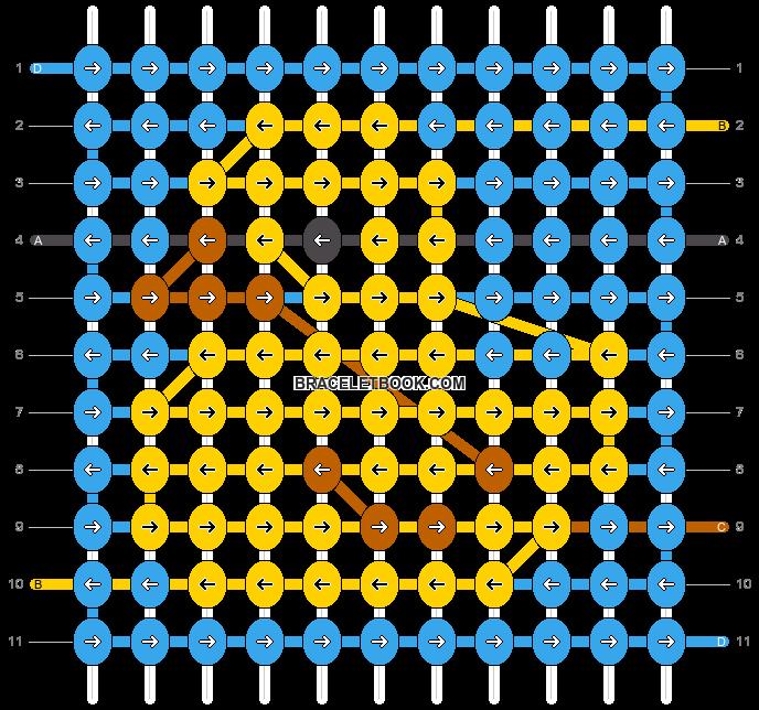 Alpha pattern #25504 pattern