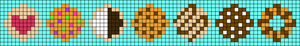 Alpha pattern #25520
