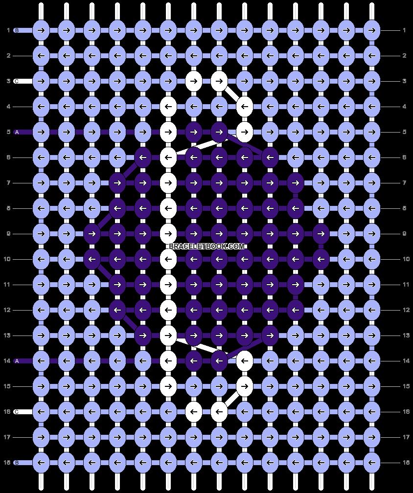 Alpha pattern #25534 pattern