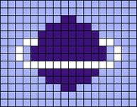 Alpha pattern #25534