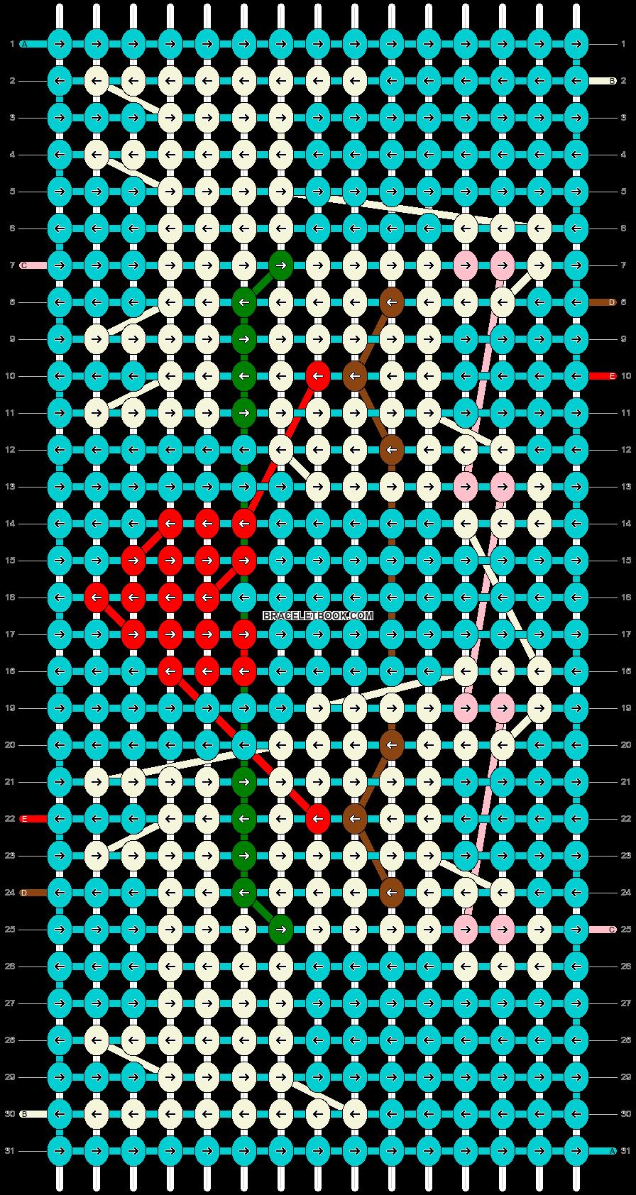 Alpha pattern #25538 pattern