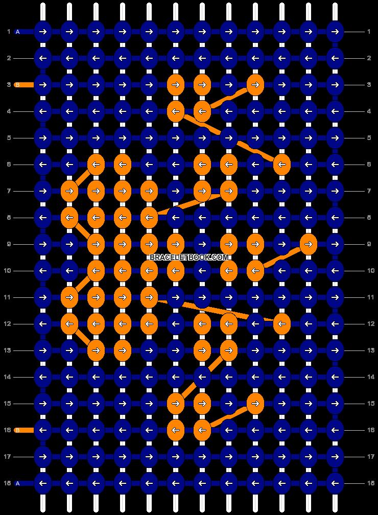 Alpha pattern #25560 pattern