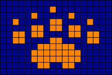 Alpha pattern #25560