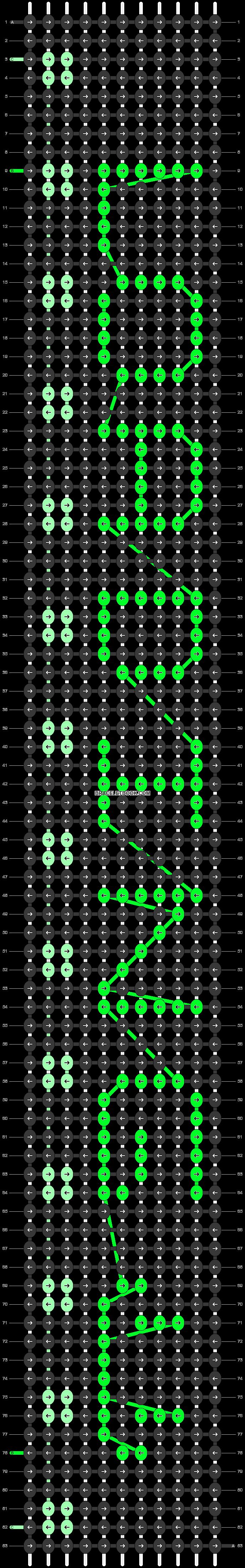 Alpha pattern #25652 pattern